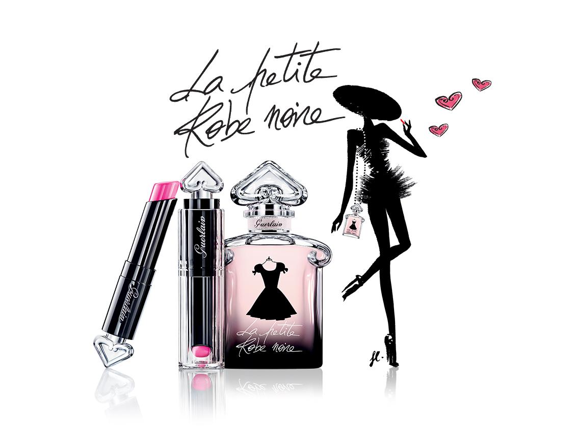 Помада La Petite Robe Noire не оставит равнодушной ни одну девушку.
