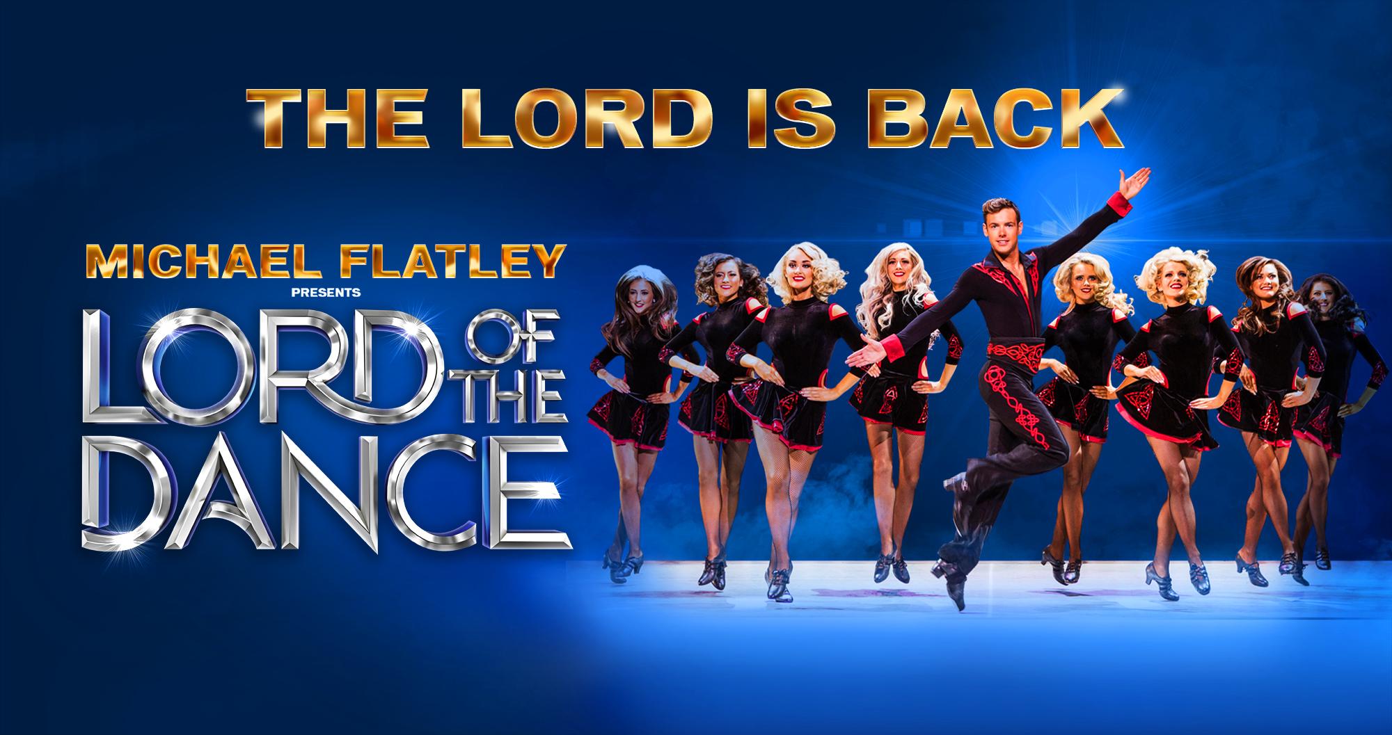 Шоу Майкла Флэтли «Lord of the Dance» вновь в Израиле