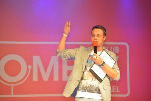 Резидент и ведущий Comedy Israel: Илья Аксельрод