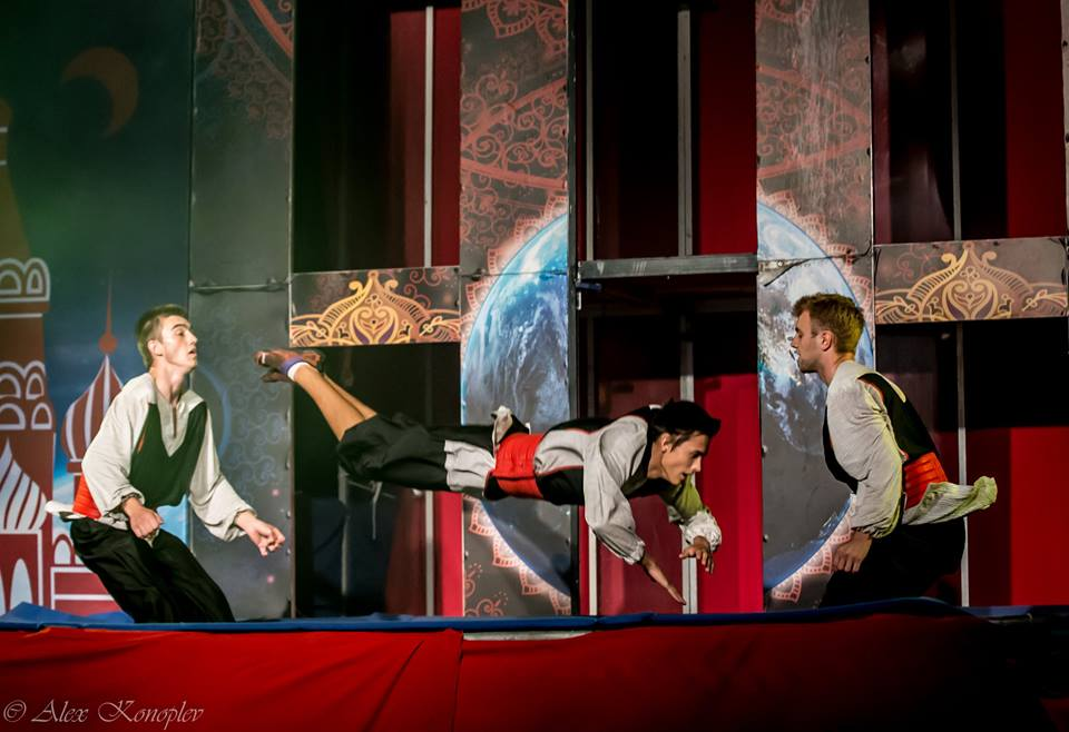 Жаркий август в цирке «Флорентин»