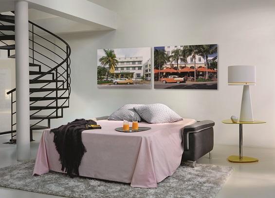 Без компромиссов: дизайнерские диваны, раскладывающиеся в полноценные кровати