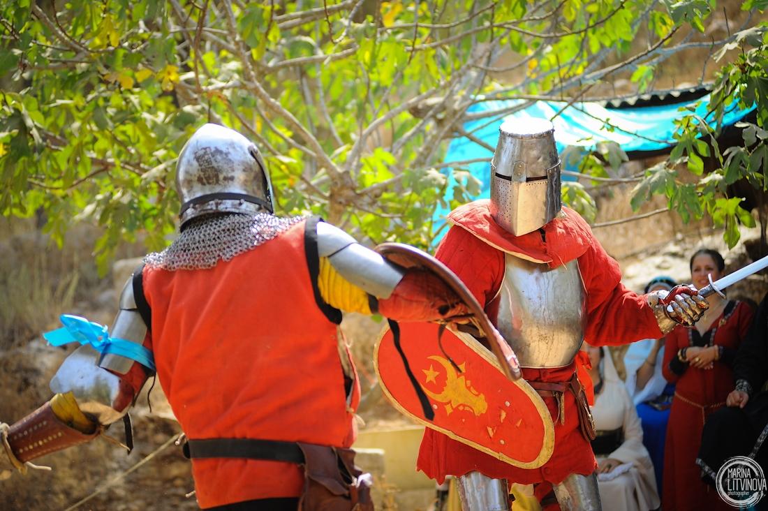Фестиваль «Рыцари Иерусалима 2016» – 3 и 4 октября в Эйн-Яэль. Рыцари из книг – от поединка до романа.