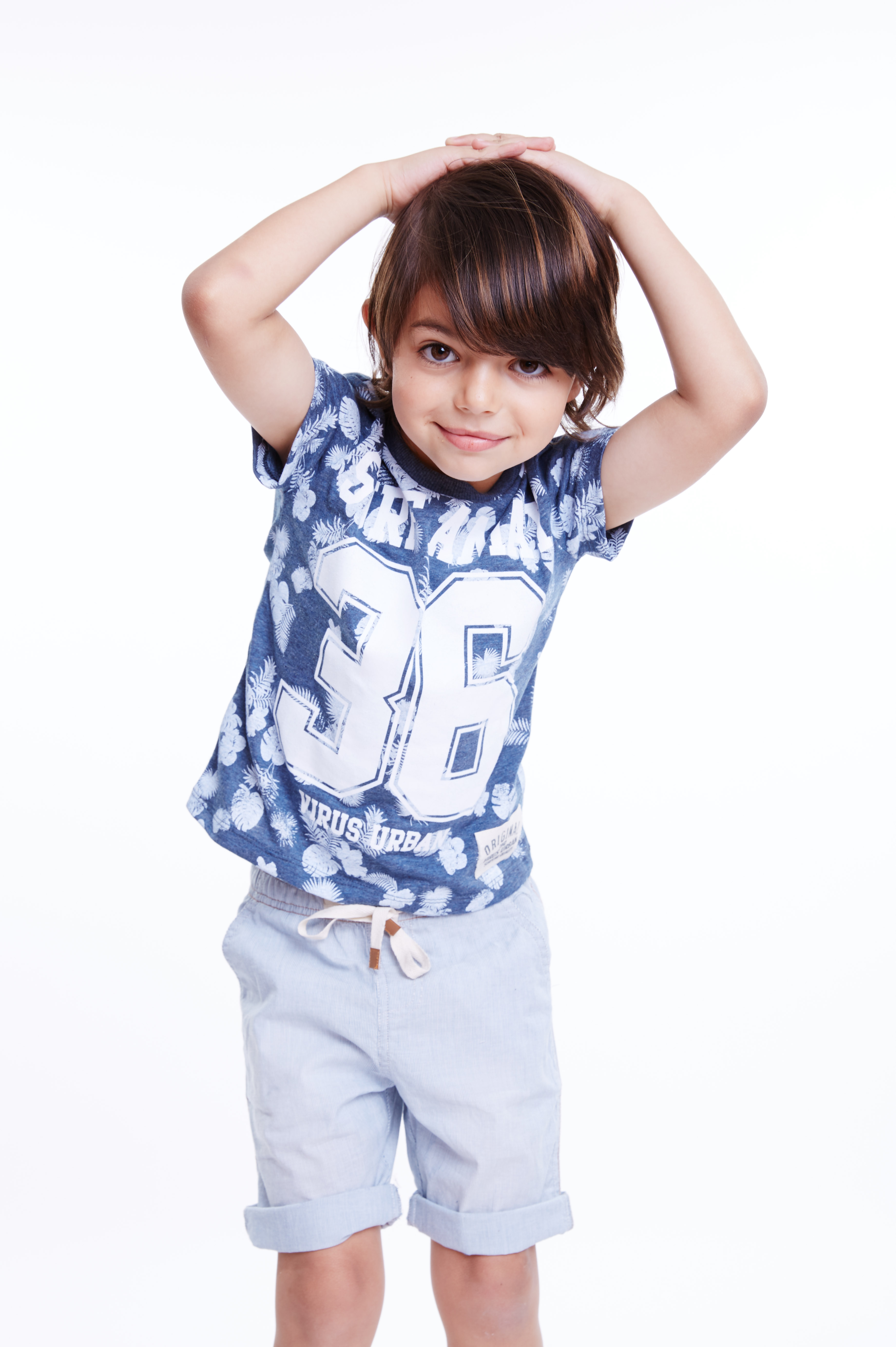 Лето не уходи: рубашки и брюки из летней коллекции Honigman Kids — всего 24.90