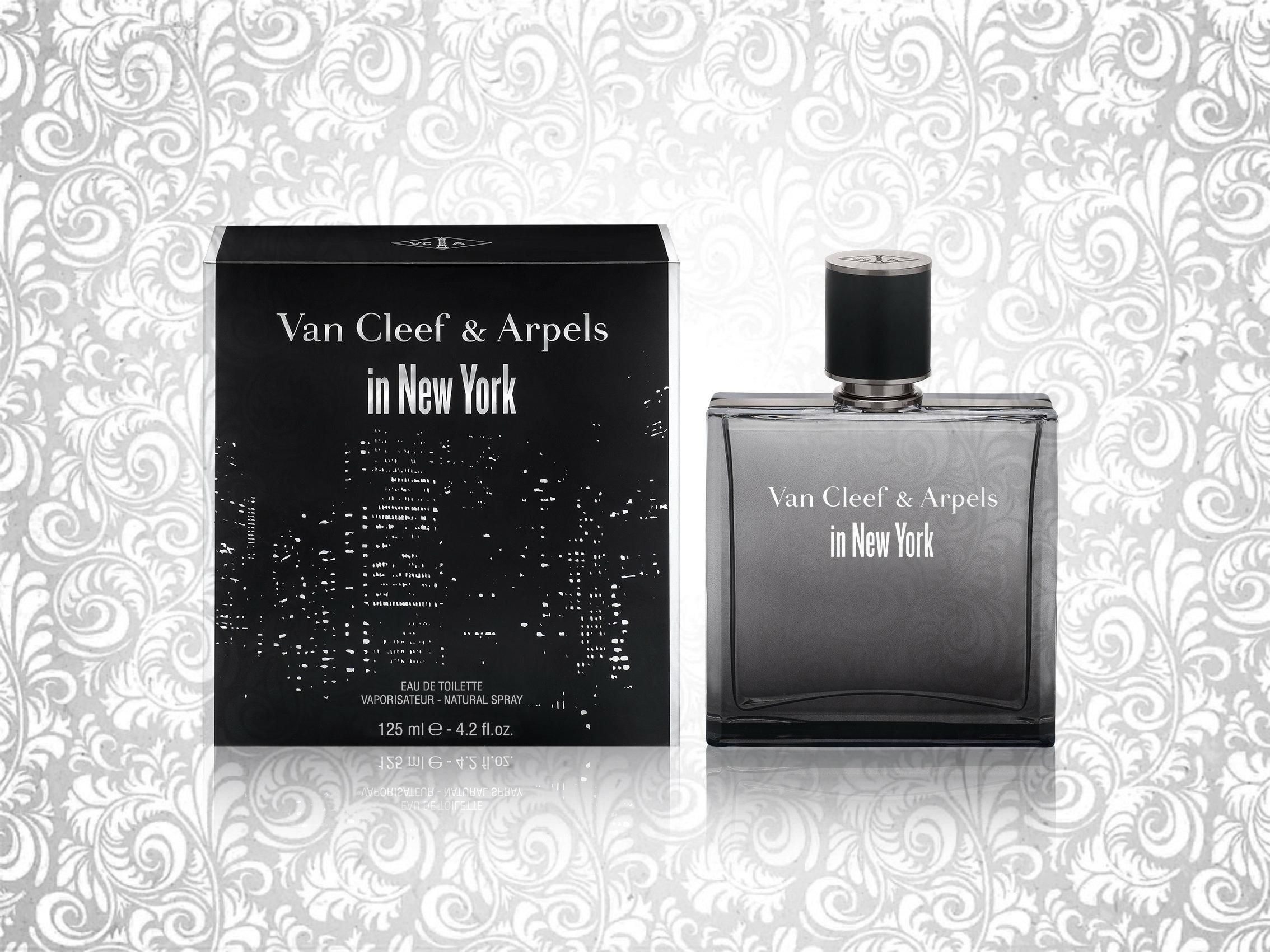 Van Cleef & Arpels представил новый мужской аромат In New York