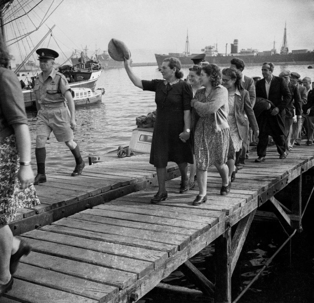 «За итальянского капитана!».  Алия бет из Италии: 1945 – 1948 гг.