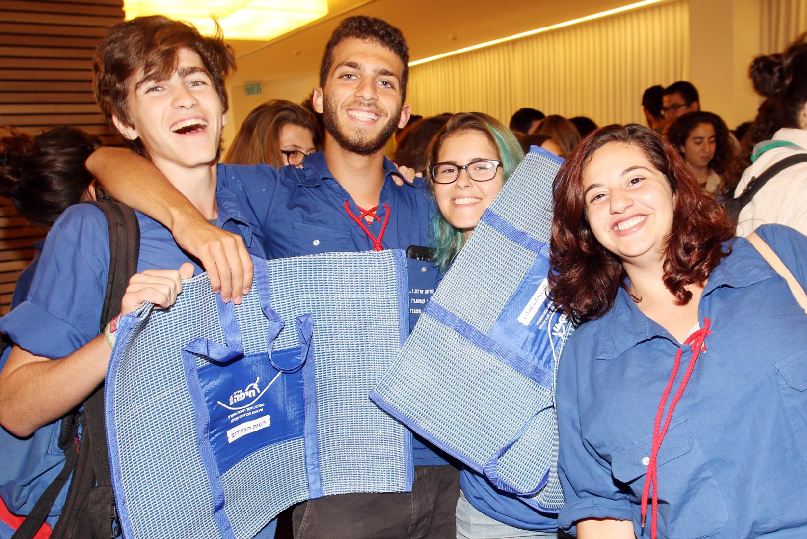 Хайфа приветствует волонтеров