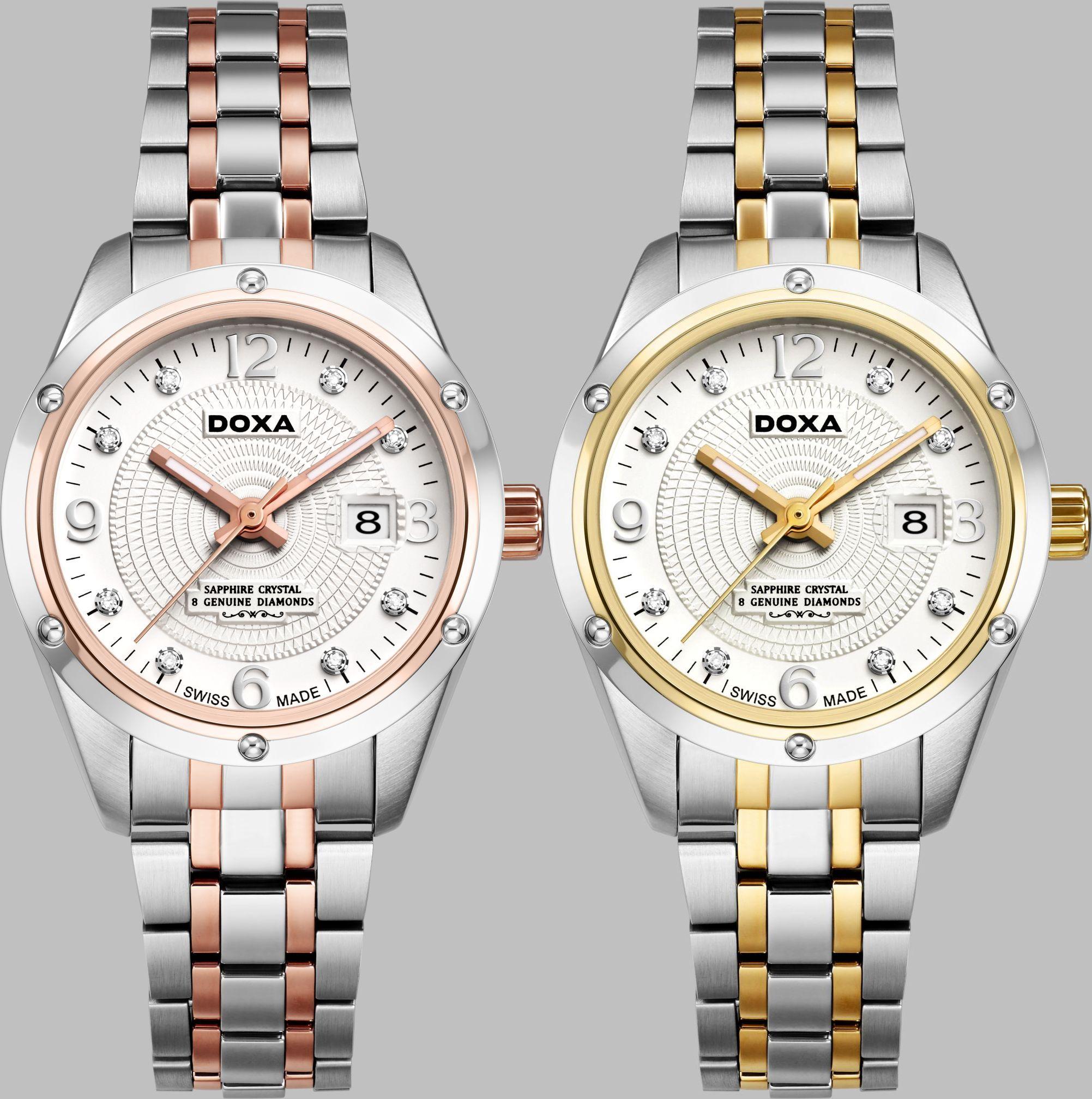 Часы DOXA Nobel – красиво, надежно