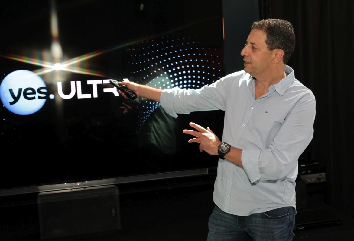 yes представляет: впервые в Израиле – просмотр телевидения нового поколения в формате 4K UltraHD!