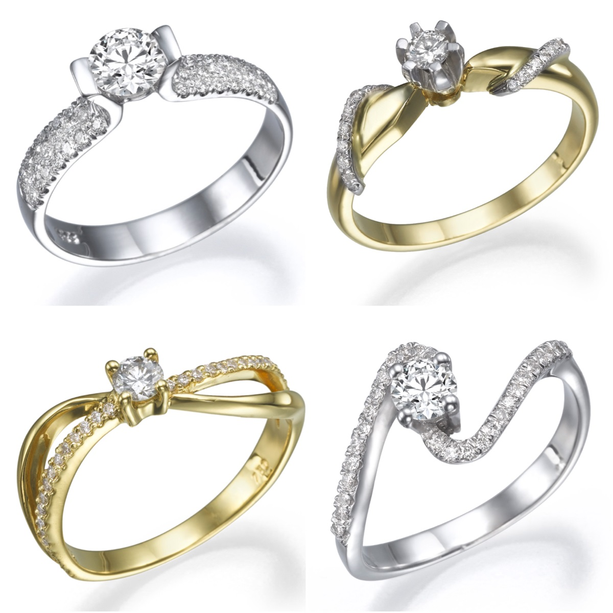 История одной помолвки: трендовые кольца с бриллиантами до 1000 шек. во всей сети Caprice и RDC