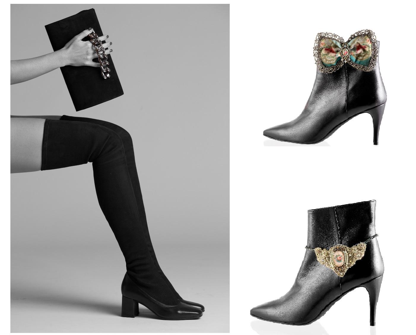 Сочетая лучших: Michal Negrin разработала коллекцию украшений для обуви Lafayette Italy