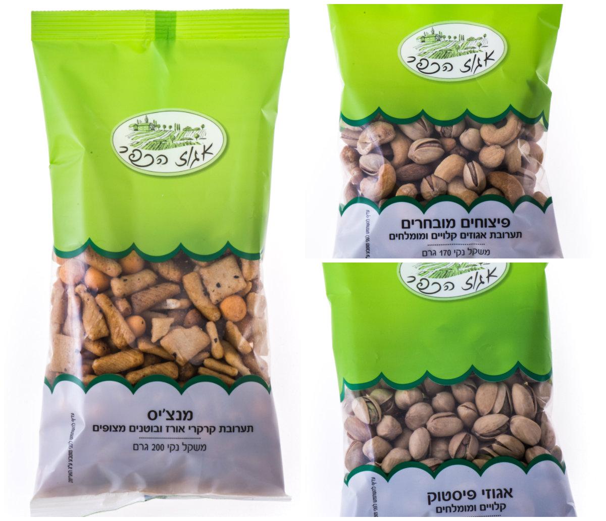 """""""Эгоз Ха-Кфар"""" – новый израильский бренд сухих продуктов питания по доступным ценам"""