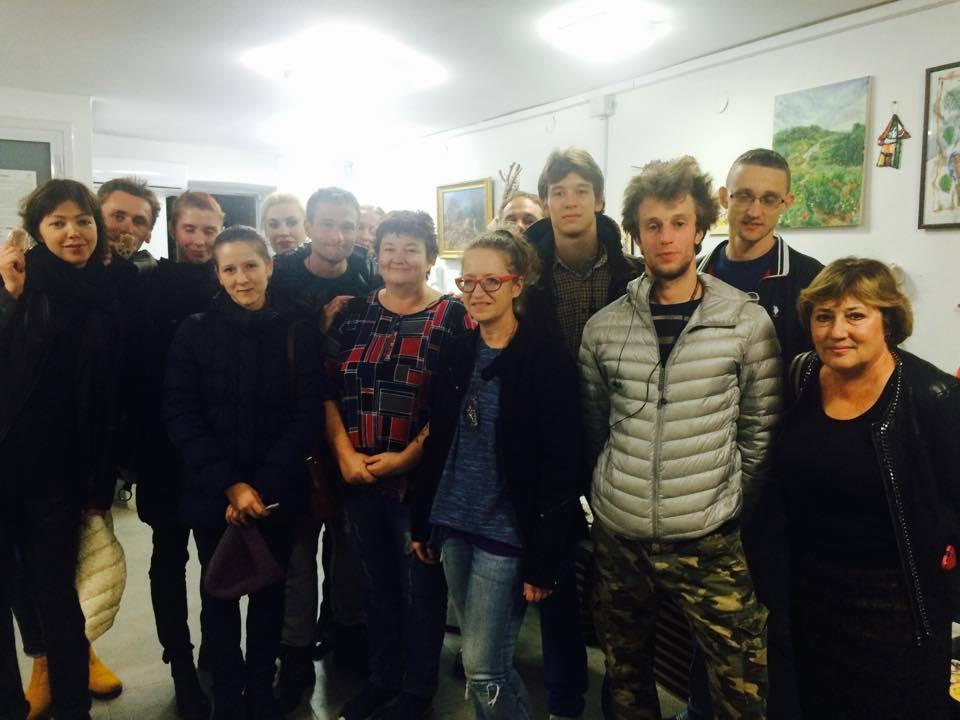 Звезды русского балета посетили галерею Unity Art