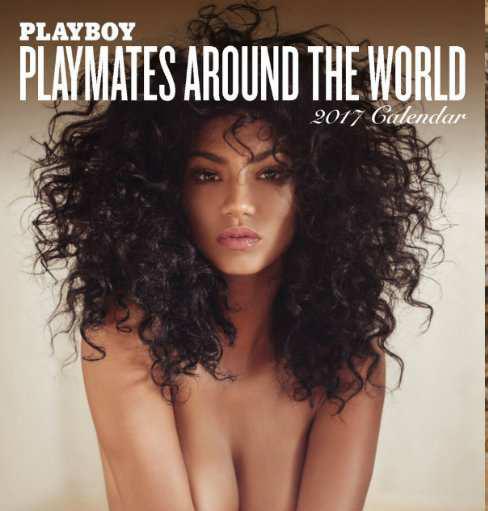 """Российская топ-модель украсила международный календарь журнала """"Playboy"""" на 2017 год"""