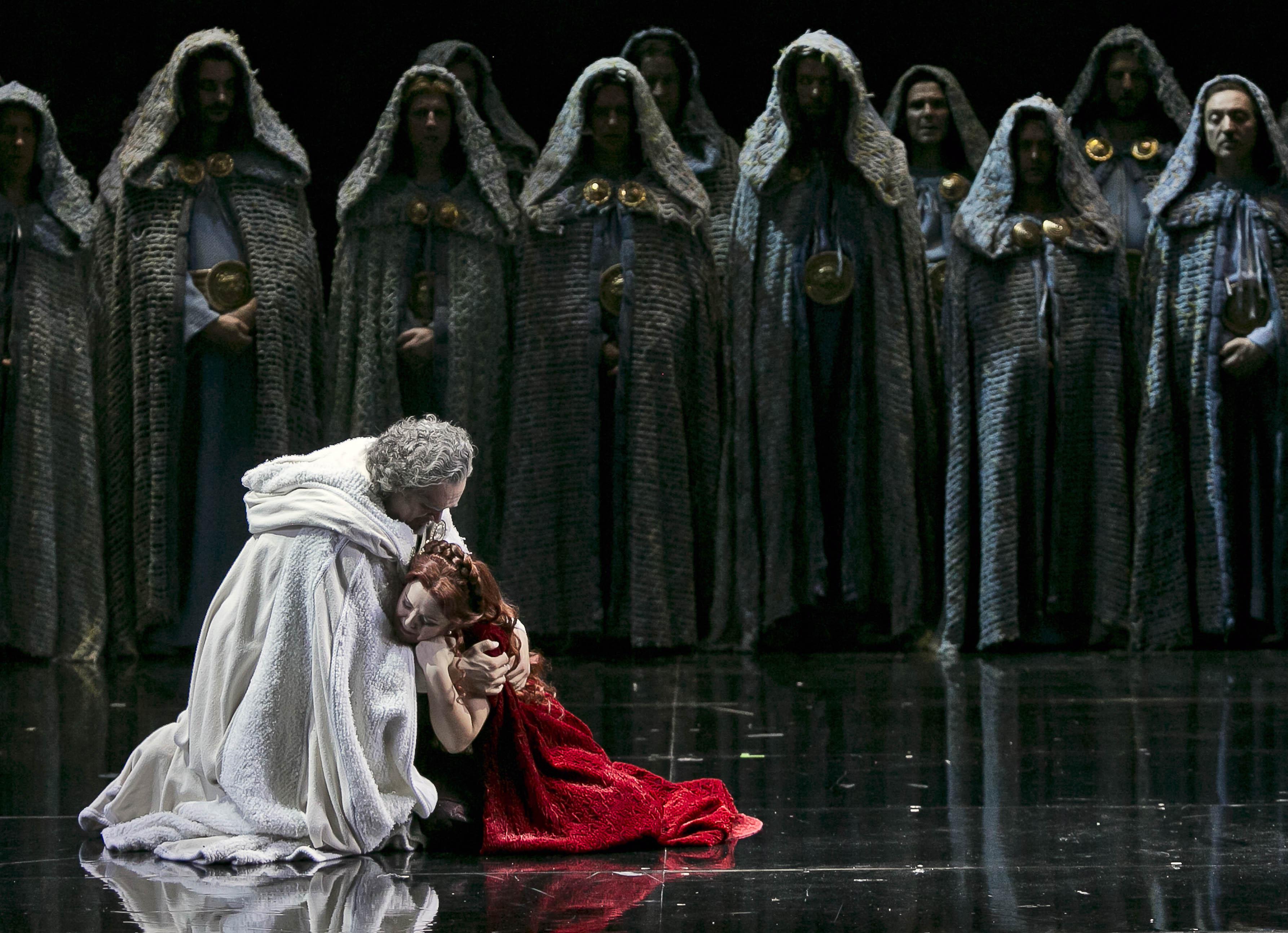 Жемчужина итальянской оперы «Норма» Винченцо Беллини на сцене Израильской Оперы