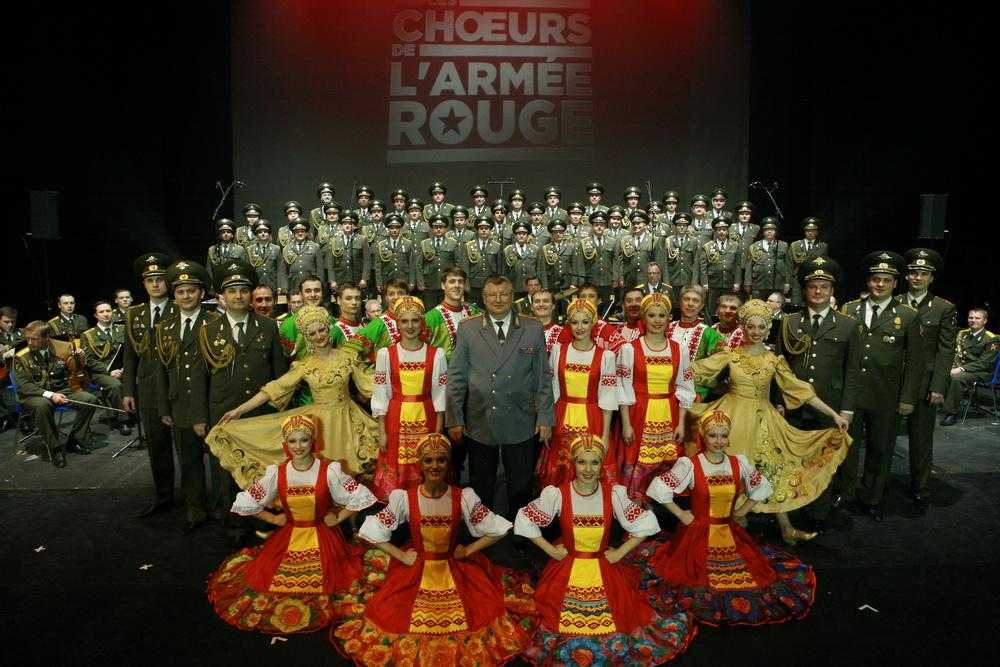 Начало мирового турне Хора Красной Армии – «Revolution» – с 19 по 28 января в Израиле