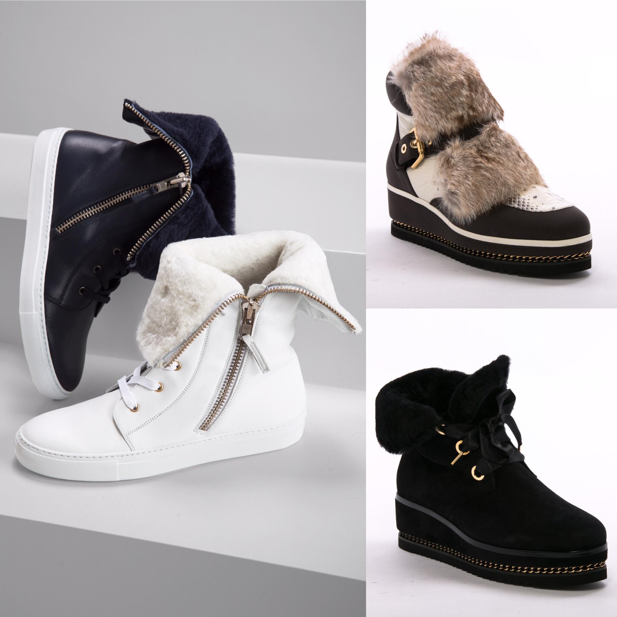 Обувь для зимних приключений от Lafayette Italy