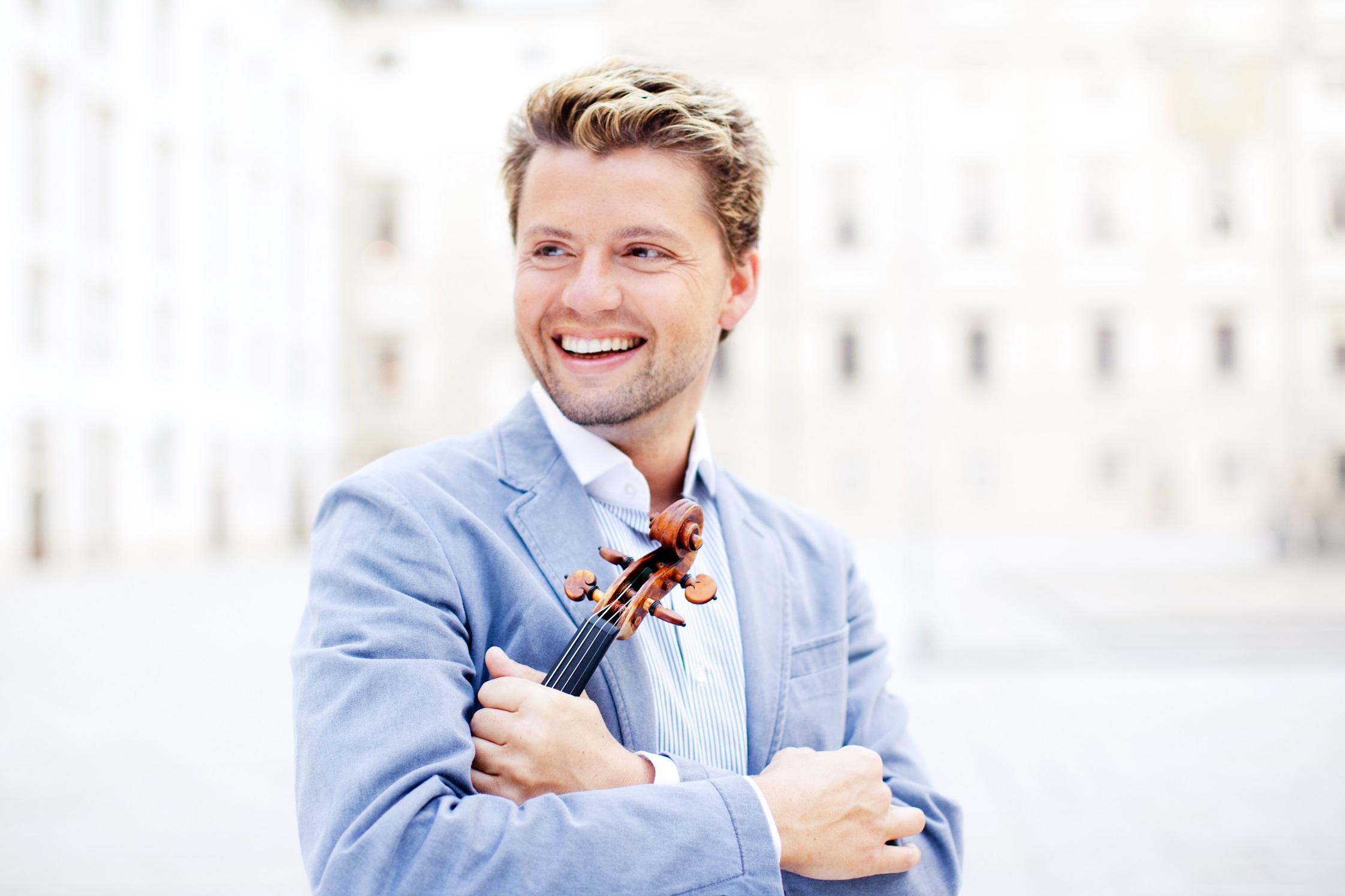 Скрипач Юлиан Рахлин выступит в феврале с Израильским Филармоническим Оркестром в честь 80-летия ИФО