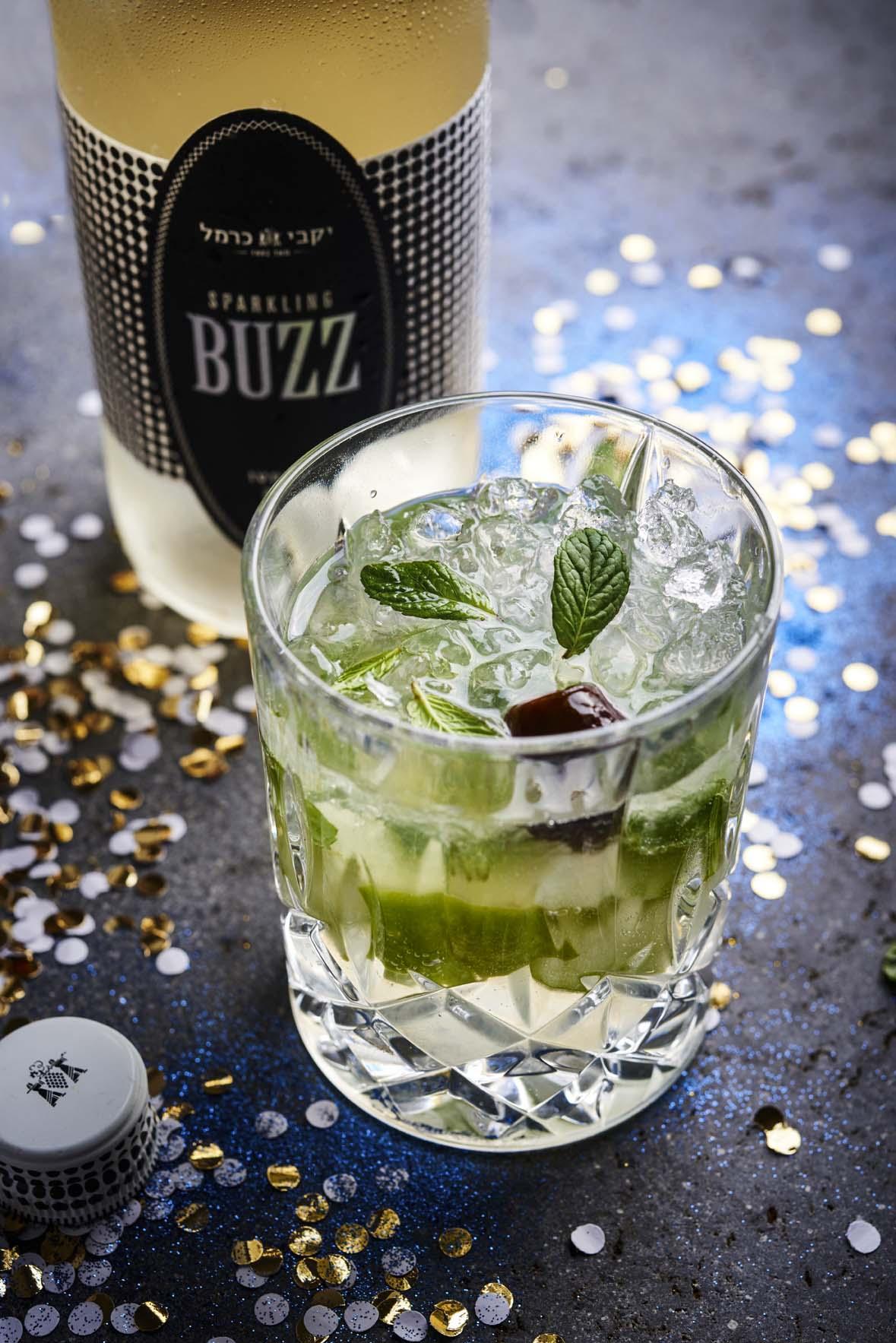 Новогодние коктейли Sparkling Buzz