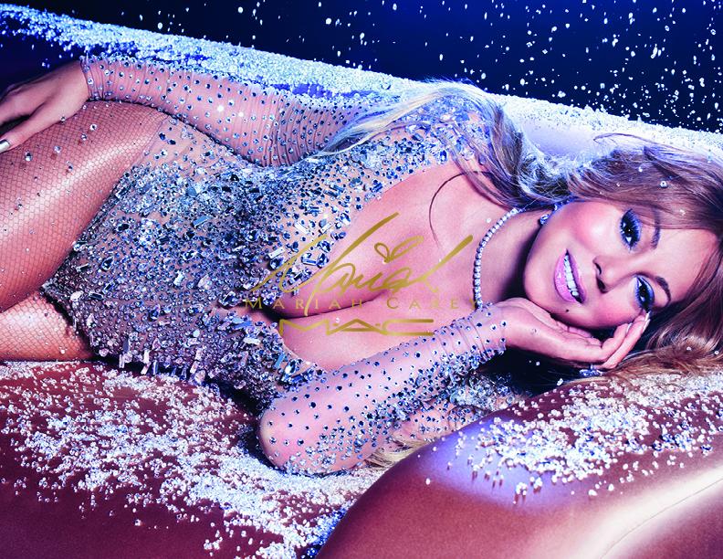 Гламурная и чувственная косметика к Новому году
