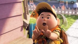 """UP"" Russell   ©Disney/Pixar.  All Rights Reserved."