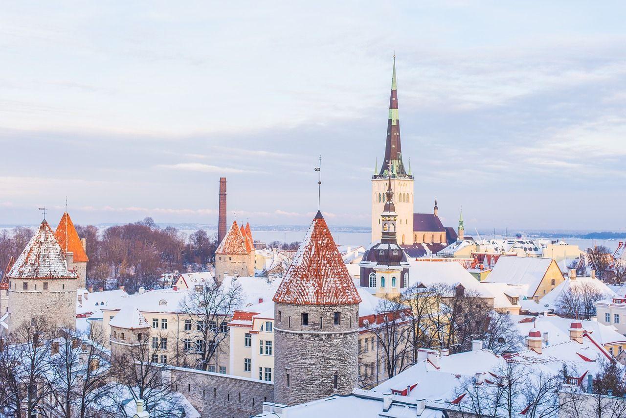 Волшебство зимней Европы