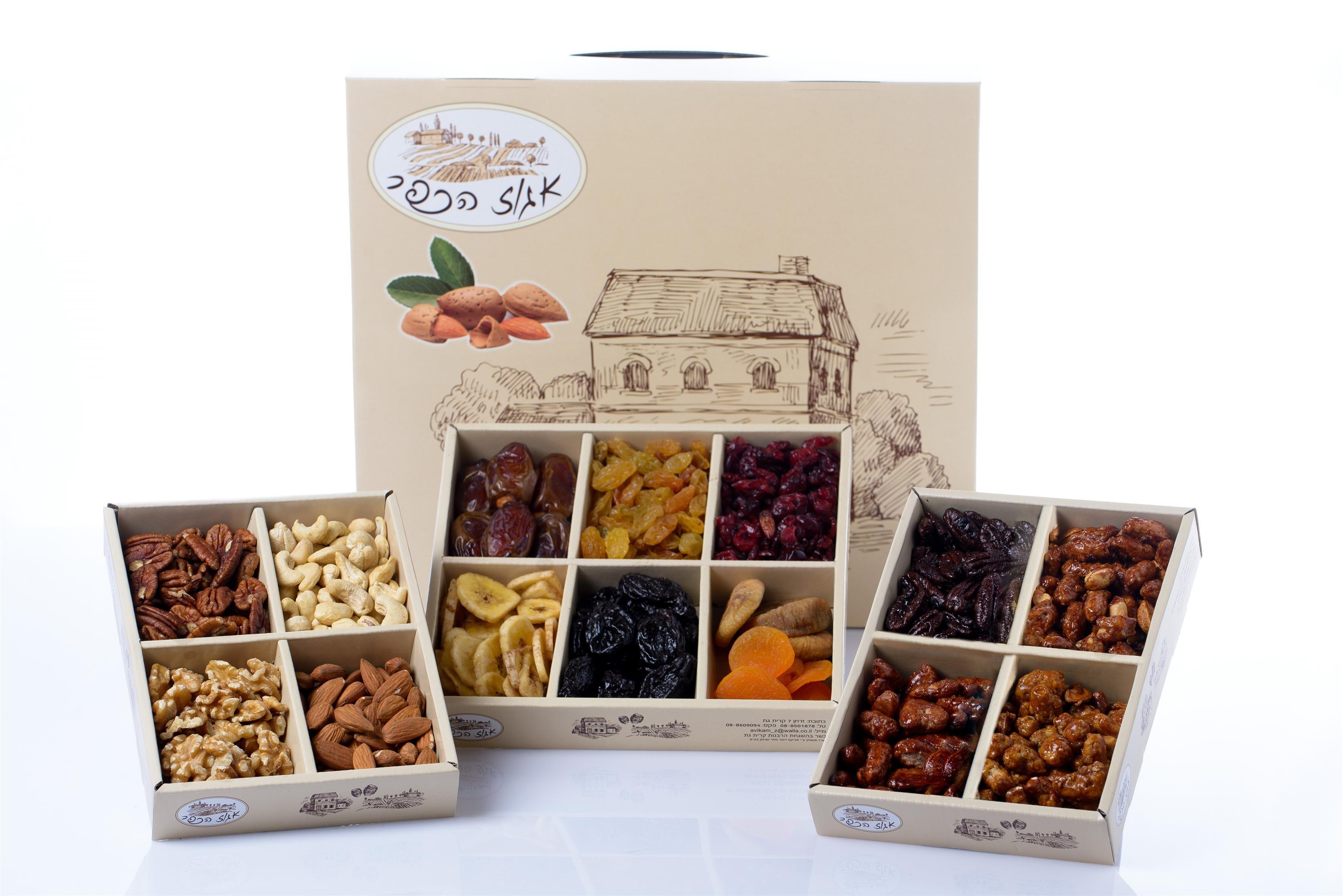 Накануне праздника Ту би-Шват: новая серия упаковок сухофруктов и орехов компании «Эгоз ха-кфар»