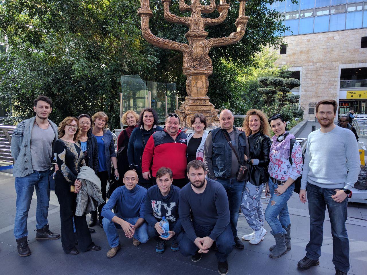 Театр «Шалом» уже в Израиле