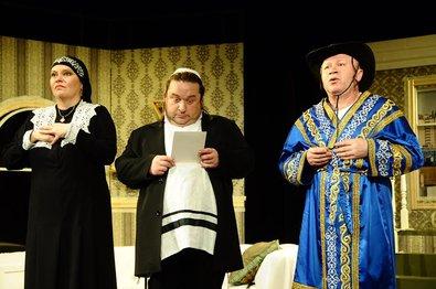 Премьерный юмор от театра «Шалом» скоро в Израиле