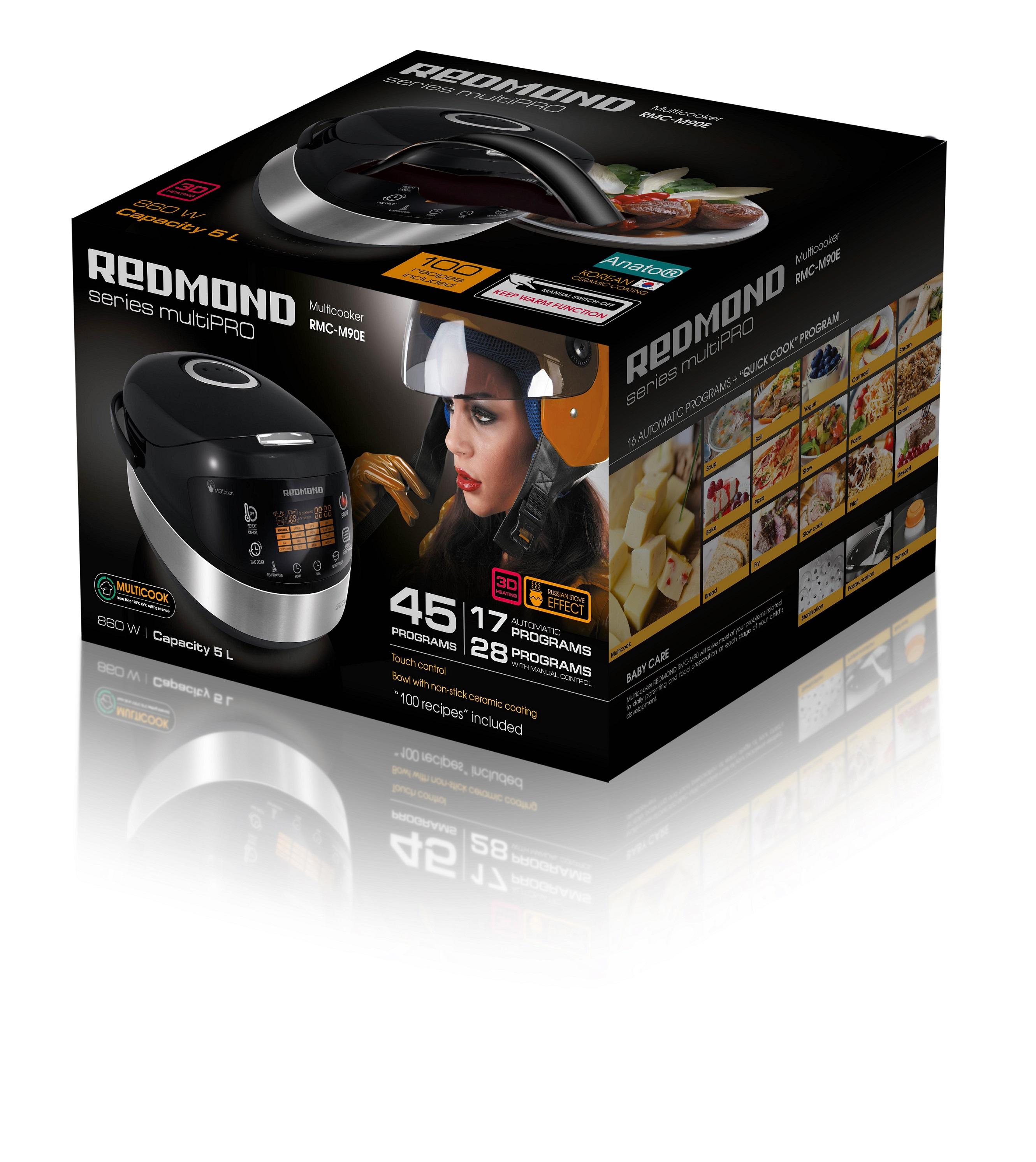 Счастье – есть!!! Подарок компании REDMOND израильским женщинам к празднику 8 Марта. Мультиварка REDMOND M90 всего за 600 шек.