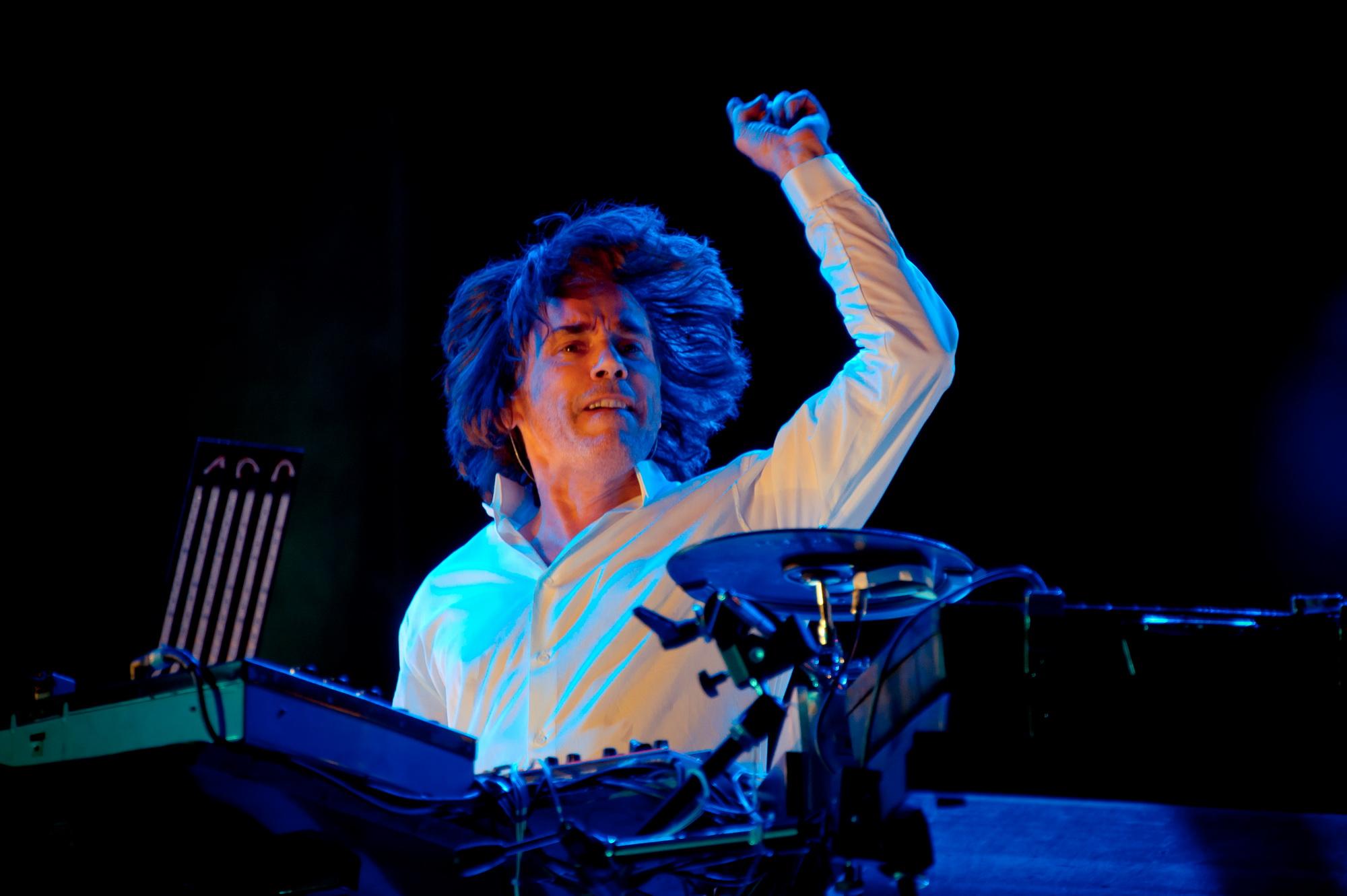 Жан-Мишель Жарр с грандиозным концертом у подножья магической горы Масада!