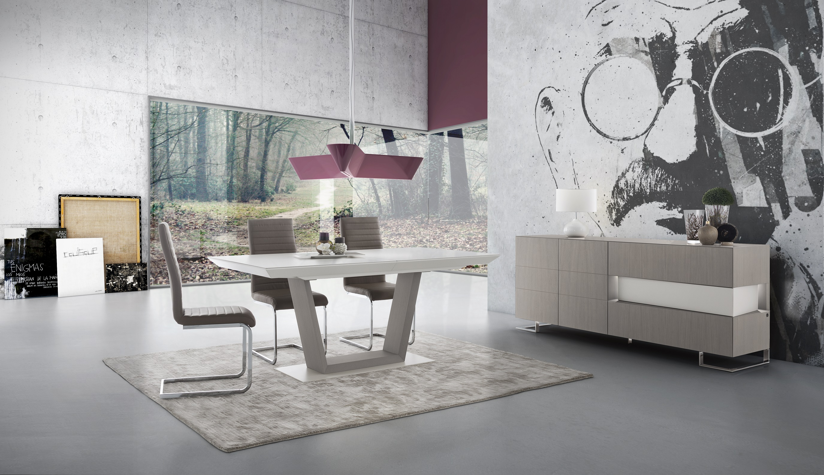 Время для семьи: роскошные интерьеры вашей столовой от Divani Center