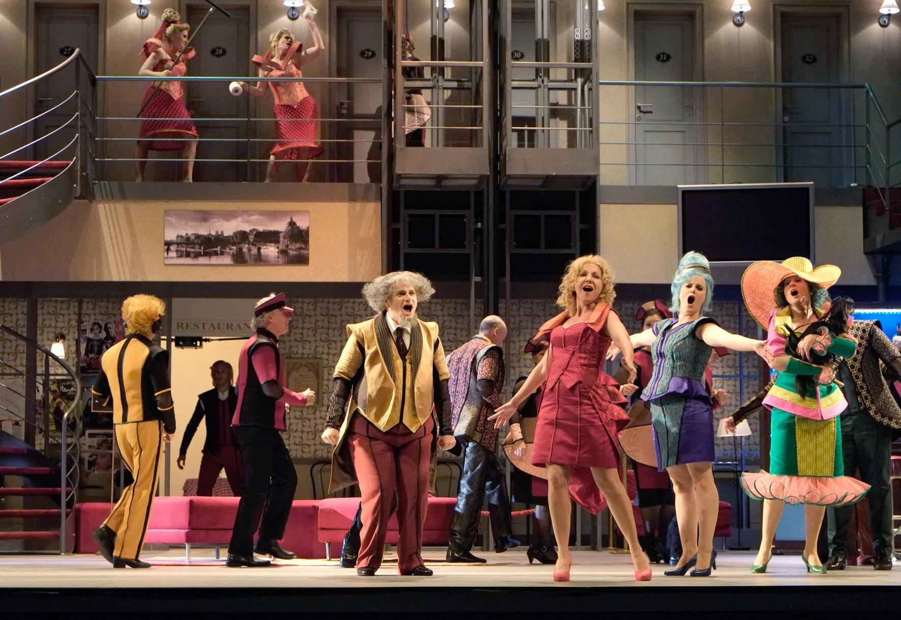 Россини, Гольдони, Лизетта и «La gazzetta» на сцене Тель-Авивской Оперы