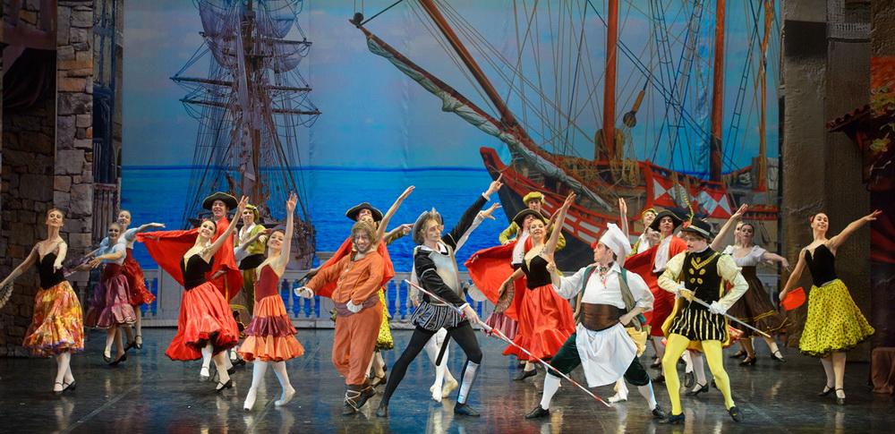 Театр «Русский балет» из Санкт-Петербурга представляет в Израиле мировую премьеру своего спектакля «Дон Кихот»