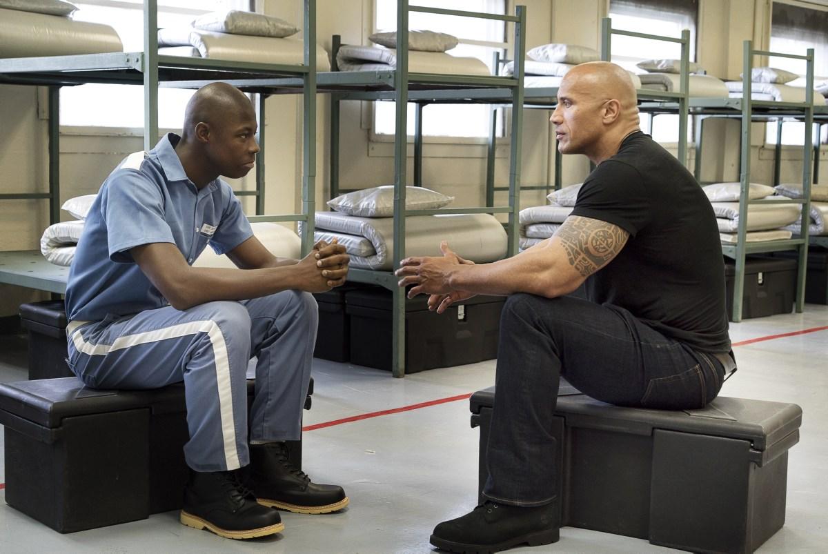 Дуэйн Джонсон вернулся в тюрьму