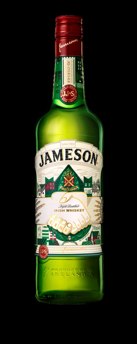Виски Jameson и День святого Патрика