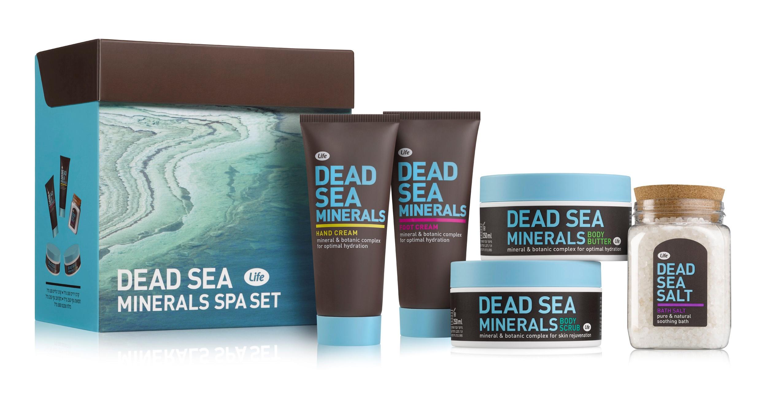 Живительная сила Мертвого моря – для вашей красоты
