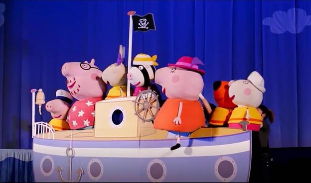 «Свинка Пеппа – путешествие на остров динозавров» – праздник для вашего ребенка