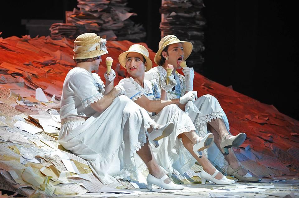 Театр Гешер предлагает вам провести лето в Мариенбаде