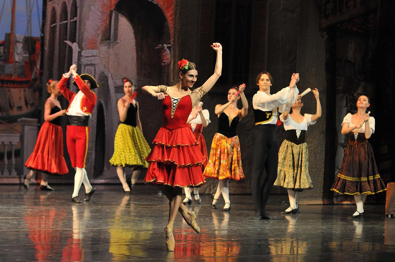 На этом балете вы точно не заснете…