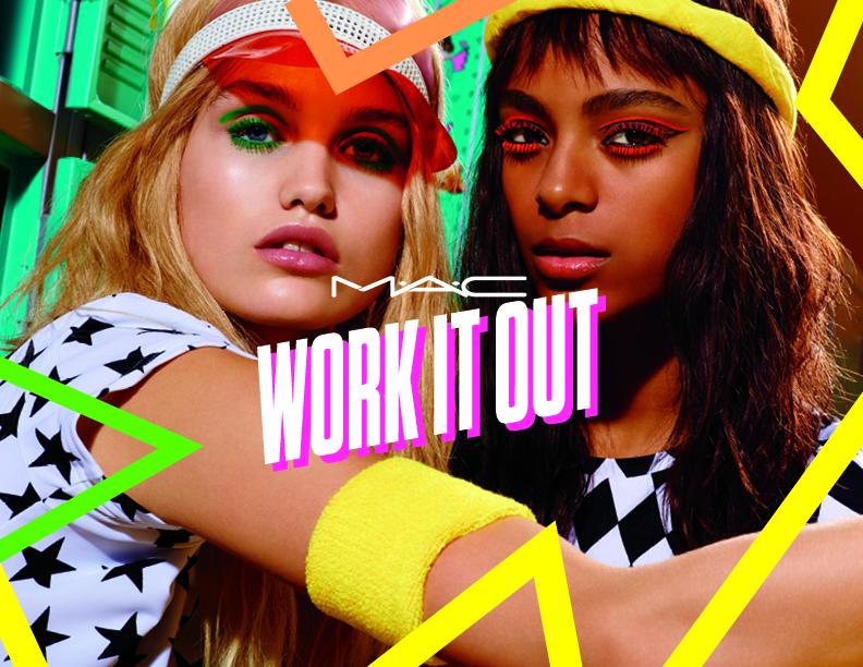 M.A.C представляет новую весеннюю коллекцию — Work It Out