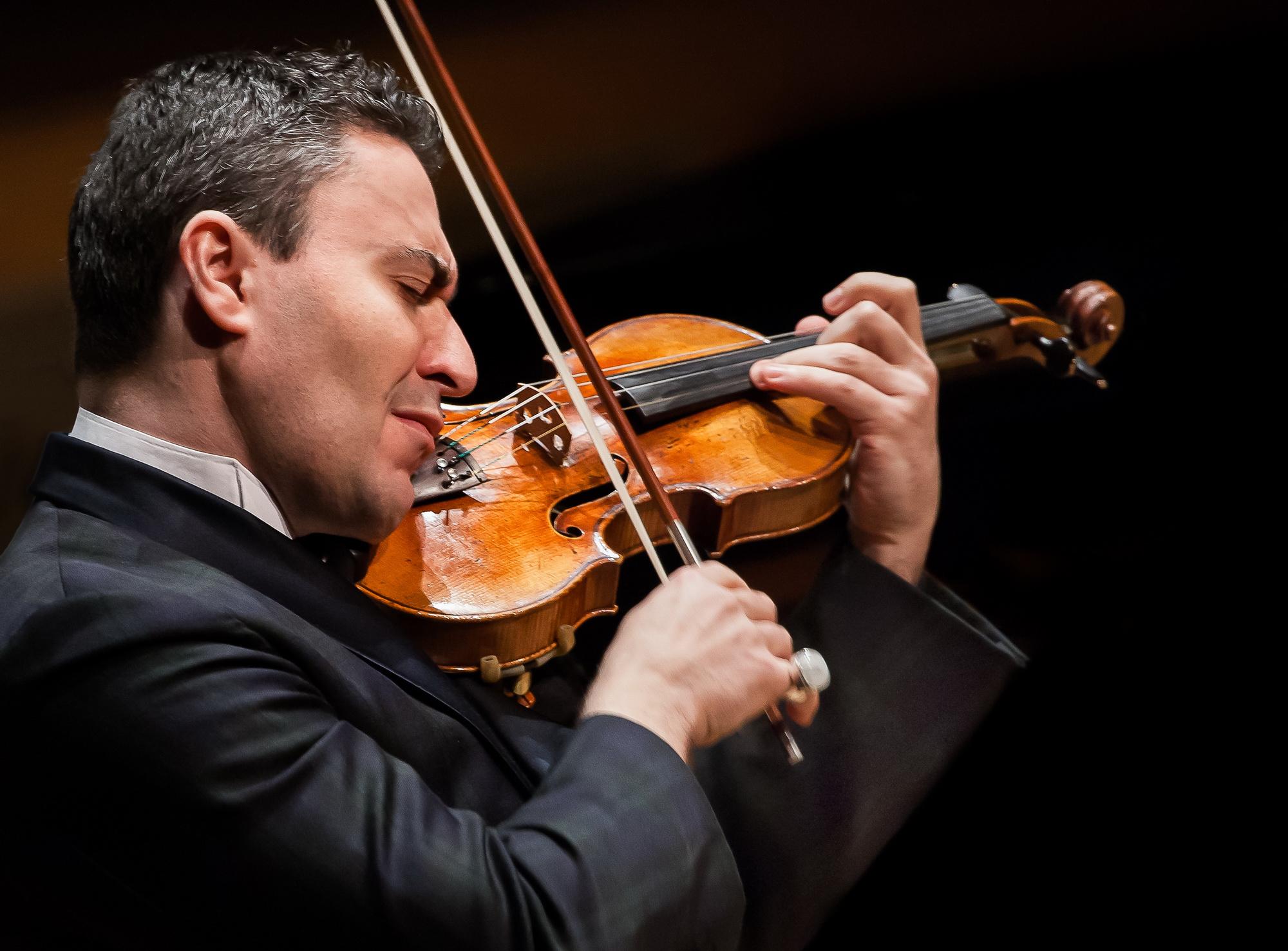 Всемирно известный скрипач Максим Венгеров исполнит концерт Брамса в Израиле