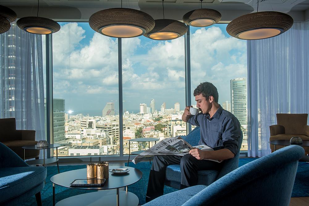 Футуристический отель-бутик Rothschild 22: полное погружение в особенную атмосферу делового Тель-Авива