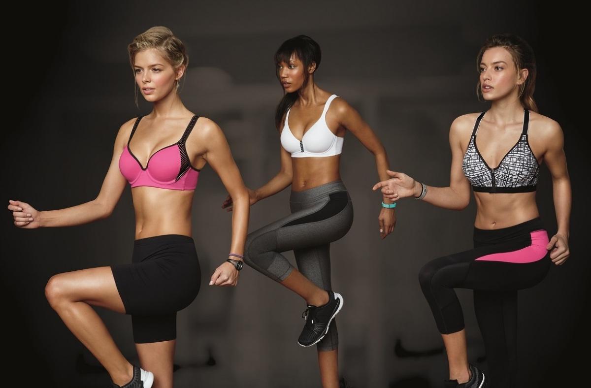 Со спортом по жизни: как выбрать правильный спортивный бюстгальтер?