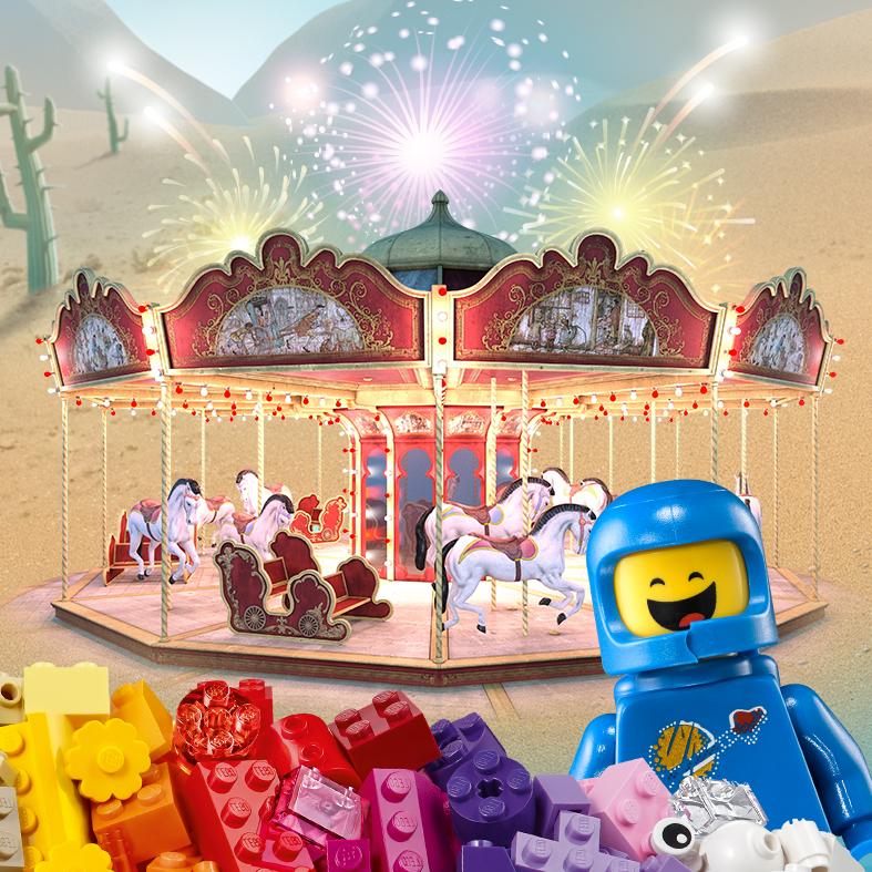 Парк LEGO в Холоне – лето 2017