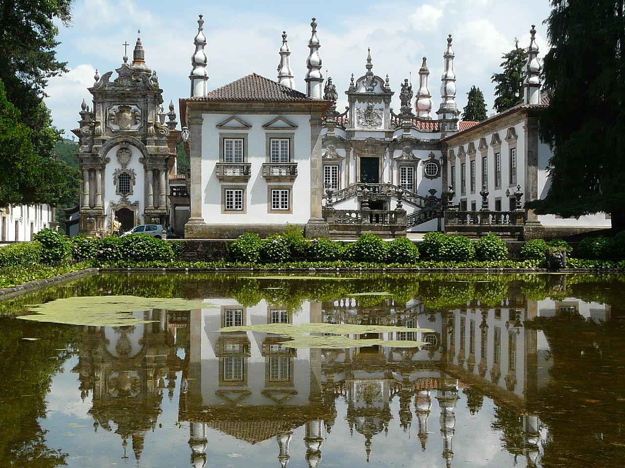 Дворец Матеуш – изюминка Португалии