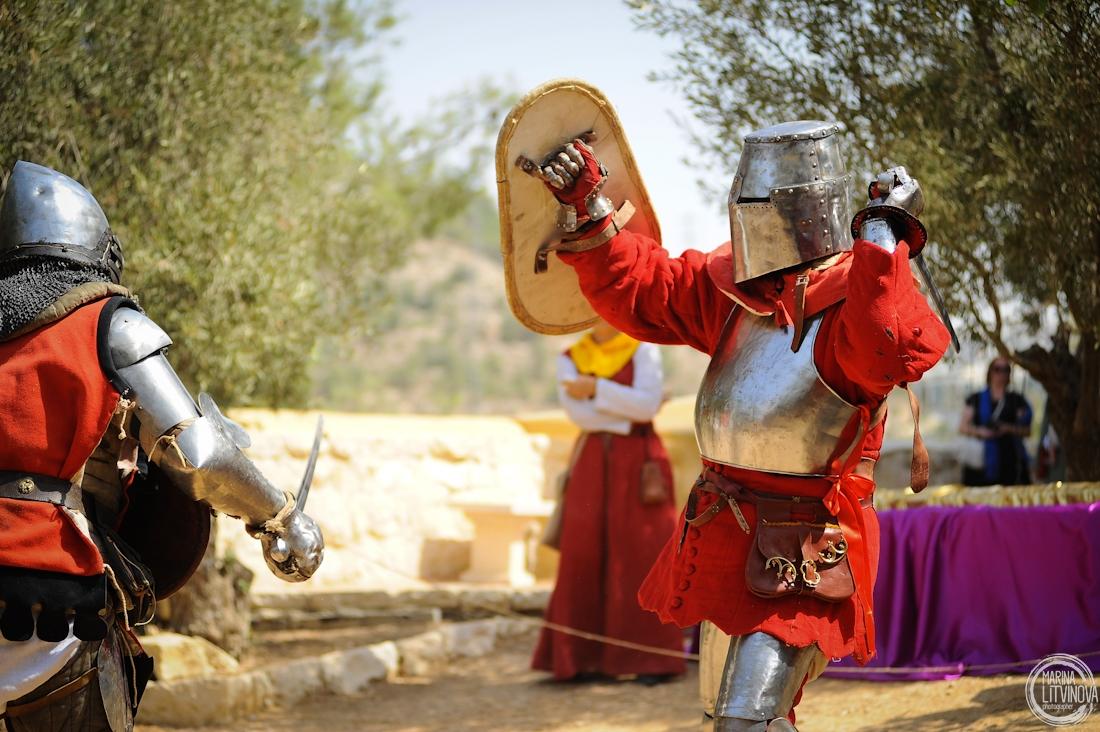 «Рыцарская шотландская сказка». Фестиваль «Рыцари Иерусалима 2017»