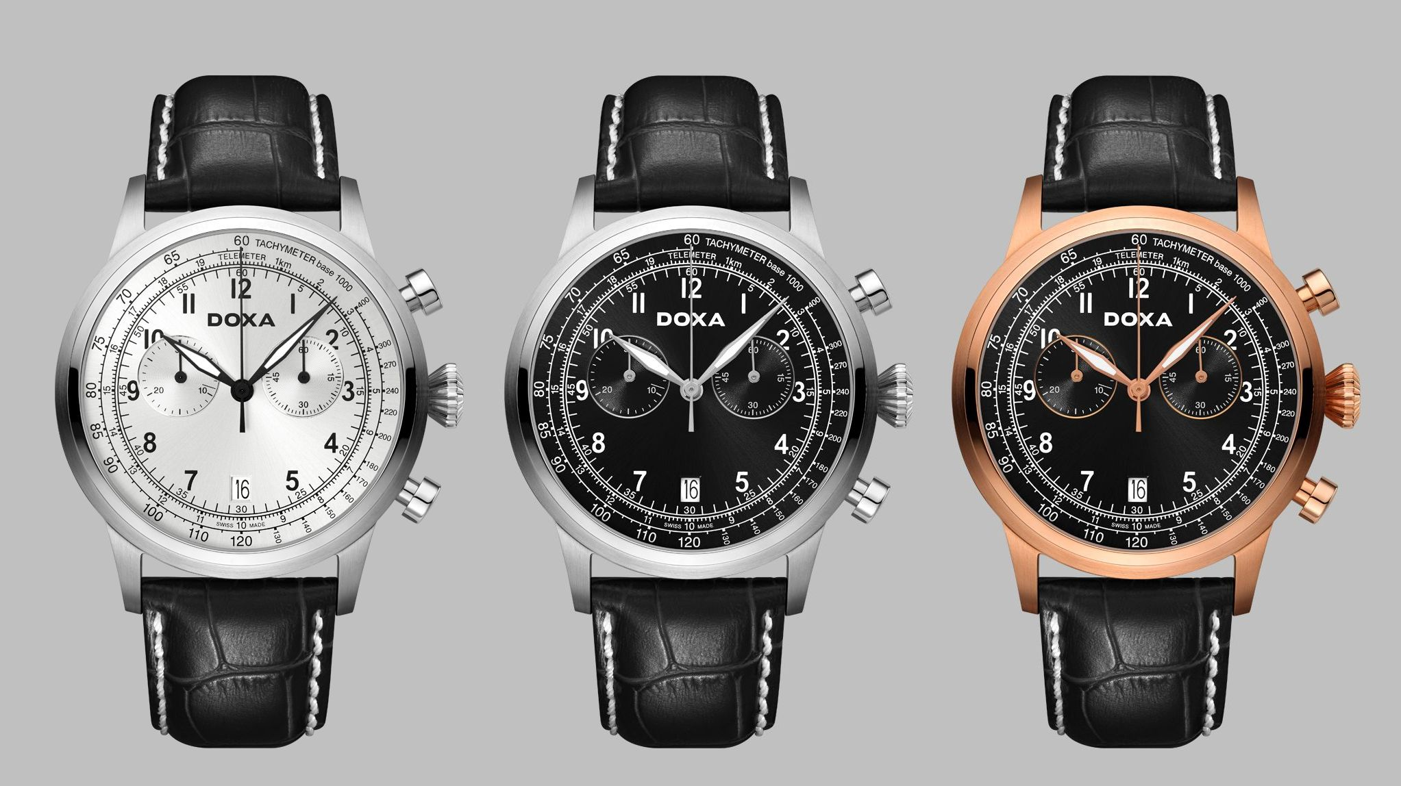 DOXA D-Air Chronograph – уже в Израиле