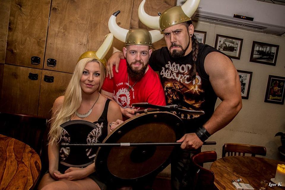 Бар-ресторан «Малая Прага» на неделю превратится в обитель викингов