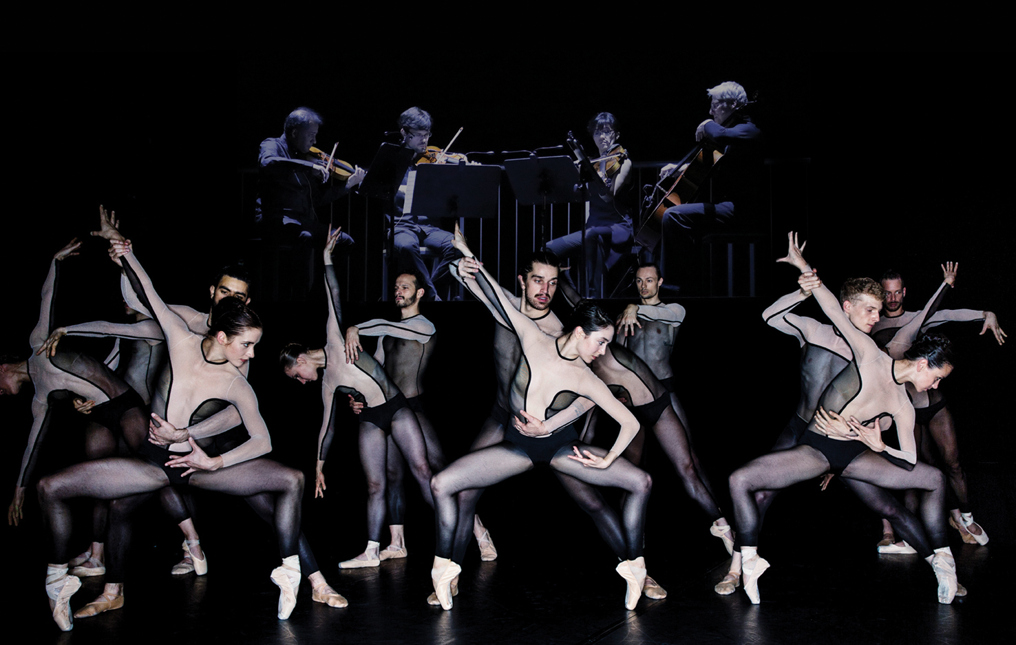Джакопо Годани и его «Трилогия примата» — танец, напоминающий кружева