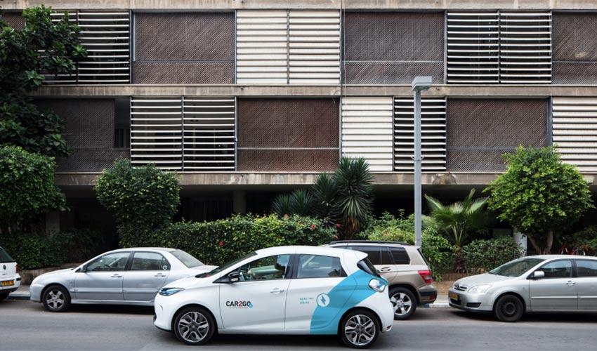 Впервые в Израиле: Хайфа запускает для широкой публики прокат электромобилей
